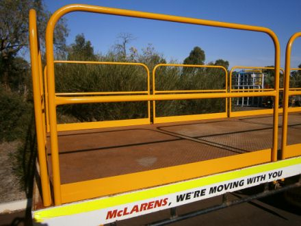 Gates for Trucks and Trailers - Mine-Site Safety Gate