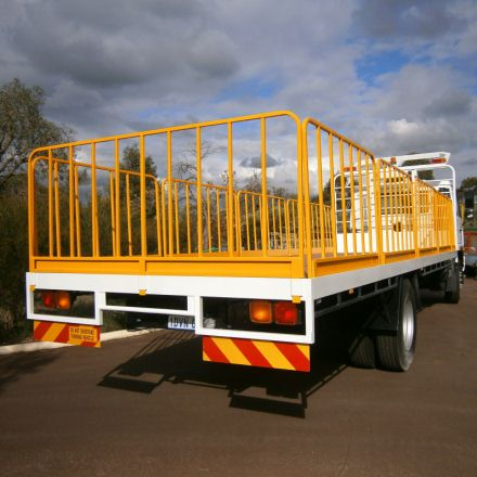 Gates for Trucks and Trailers - Mine Safety Gates