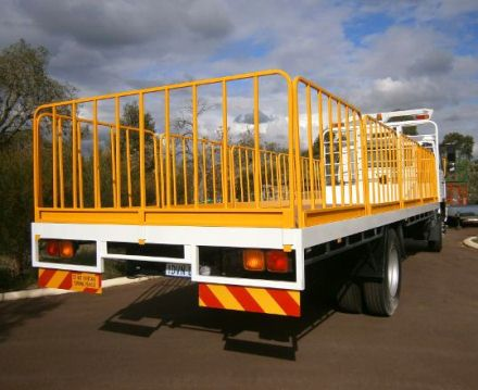 Gates for Trucks and Trailers - Mine-Site Safety Gates